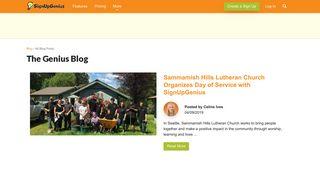 SignUpGenius Blog