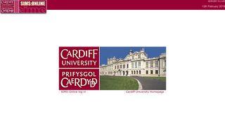 Cardiff University SIMS:Online 8.2.0
