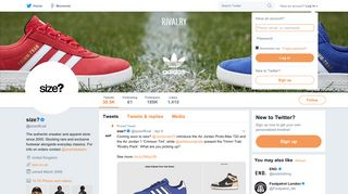 size? (@sizeofficial) | Twitter
