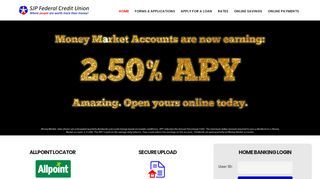 SJP Federal Credit Union – Where people are worth more than money!