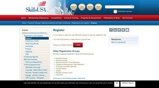 Register - SkillsUSA
