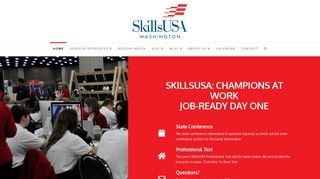 SkillsUSA Washington | SkillsUSA, Champions at Work, Lighting the ...