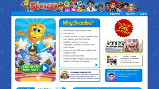 Skoolbo - Reading, Writing, Numeracy, Languages, Science and more
