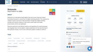 Solomoto SaaS Platform for SMBs - Start-Up Nation Finder
