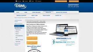 SportsWare Online   CSMi Solutions