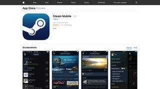 Steam Mobile on the App Store - iTunes - Apple