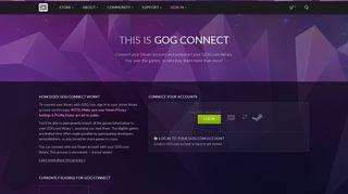 GOG Connect - GOG.com