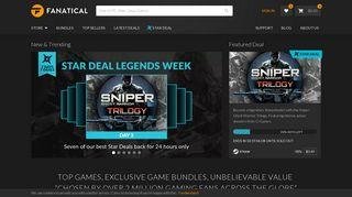 Fanatical   Buy PC Games, Steam Keys, Bundles (formerly Bundle Stars)