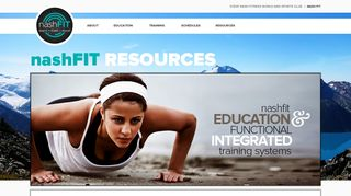 Resource Login - nashFIT | Steve Nash Fitness World and Sports Club