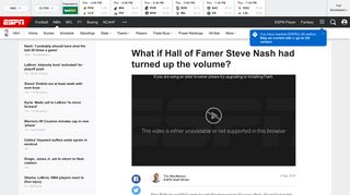 What if Basketball Hall of Famer Steve Nash had flipped his pass-first ...