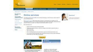 Sun Life Financial - Online services