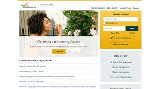 my Sun Life | Sun Life Financial