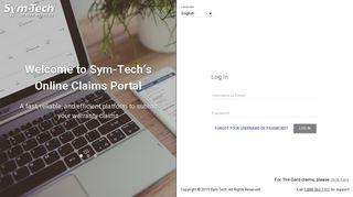 Sym-Tech's Online Claims Portal