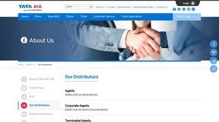 Tata AIA Life Insurance Agents