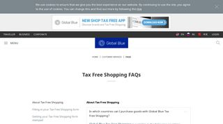 FAQs | Global Blue
