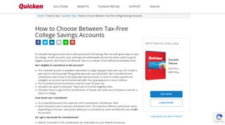 How to Choose Between Tax-Free College Savings Accounts | Quicken