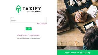 Taxify - Login