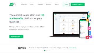 GoCo: Online HR, Benefits, Payroll. All-in-one modern platform.