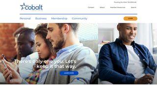 Cobalt Credit Union: Home