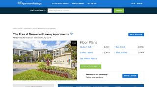 The Four at Deerwood Luxury Apartments - 109 Reviews ...