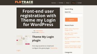 Front-end user registration with Theme my Login for WordPress