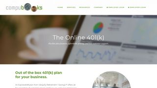 The Online 401(k) - CompuBooks