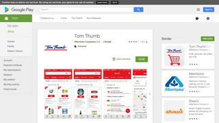 Tom Thumb - Apps on Google Play