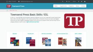 Basic Skills / ESL   Townsend Press