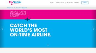 Tourvest Travel Services / TravelIT - FlySafair