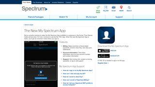 My Spectrum App (formerly My TWC)