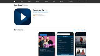 Spectrum TV on the App Store - iTunes - Apple