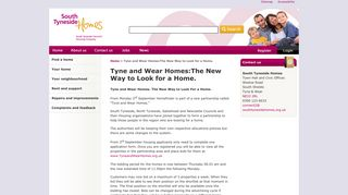 Tyne and Wear Homes:The New Way to Look for a Home.   South ...