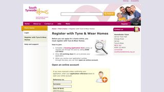 Register with Tyne & Wear Homes   South Tyneside Homes