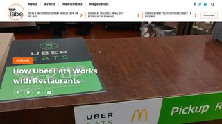 How Uber Eats Works with Restaurants - Skift Table