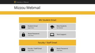 Webmail // Mizzou // University of Missouri