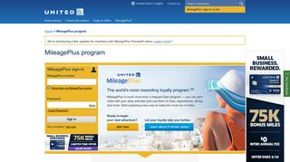 Earn MileagePlus Frequent Flyer Miles | United Airlines