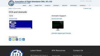 CCS and Unimatic - AFA United MEC