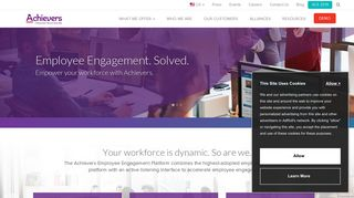 Achievers: Employee Rewards and Recognition Programs | Cloud ...