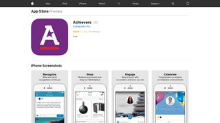 Achievers on the App Store - iTunes - Apple