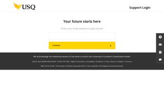 Support Login: Ask USQ Future Students
