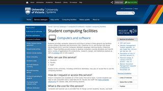 Student computing facilities - University of Victoria - UVic