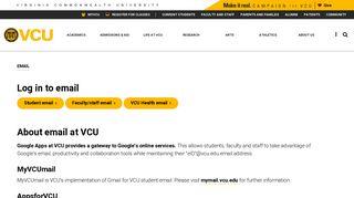 Email - Virginia Commonwealth University