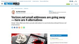 Verizon.net email addresses are going away — here are 4 alternatives ...