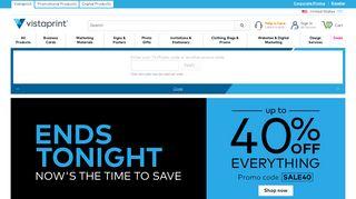 Vistaprint: Business Cards, Marketing Materials, Signage & More
