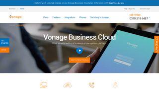Vonage Business Cloud | Vonage Business