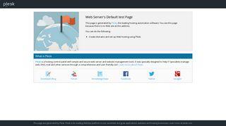 Web Server's Default Page