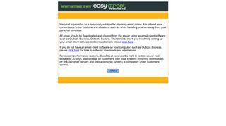 EasyStreet Webmail Notice