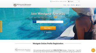 Register | Westgate Rewards