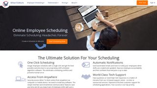 WhenToWork: Employee Scheduling Software & App. Try It Free!