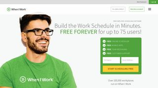 When I Work | Free Online Employee Scheduling Software and Time ...